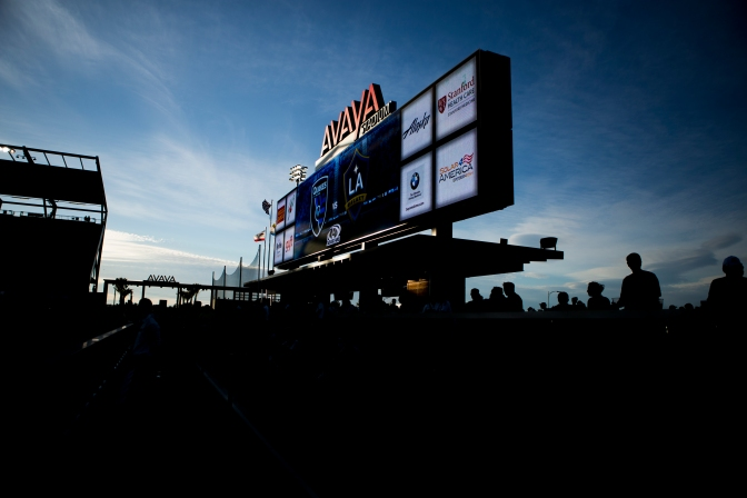 """The games between the San Jose Earthquakes and LA Galaxy are known as the """"California Clasico"""" because of the rivalry the teams' share and the state they both reside in. (Randy Vazquez)"""