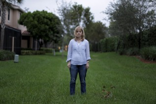 A portrait of Annika Dean at her home in Parkland. Dean was one of the many people who were at the Fort Lauderdale-Hollywood International Airport when a lone gunman opened fire. During the gunfire a 70-year-old stranger jumped on her to shield her from the bullets. Randy Vazquez, Sun-Sentinel