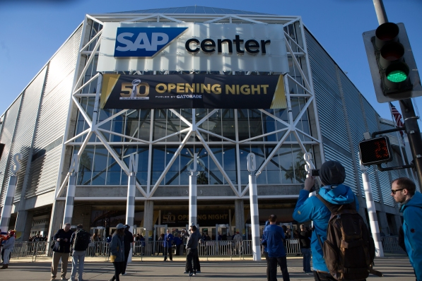 For the first time the National Football League held Opening Night. The media spectacular took place at SAP Center in San Jose, Calif on Feb. 1, 2016. (Randy Vazquez)