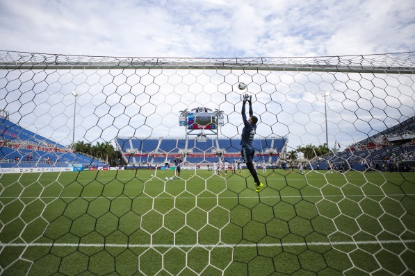 Argentina and Haiti played a friendly at Florida Atlantic University Stadium on Sunday, July 24, 2016. For Argentina the friendly will serve as preparation for the Olympics in Rio next month. Randy Vazquez, Sun Sentinel