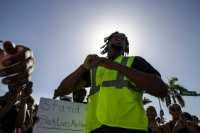 The Black Lives Matter Alliance Broward marched in the streets of Fort Lauderdale on Saturday, July 9, 2016. The march started at Stranahan Park and carried over to the Broward County Main Jail. Randy Vazquez, Sun Sentinel
