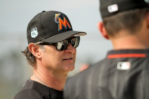 Miami Marlins pitchers and catchers began spring training Tuesday at Roger Dean Stadium in Jupiter. Manager Don Mattingly during training. Randy Vazquez, South Florida Sun-Sentinel