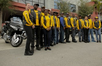 Members of the Buffalo Soldiers Motorcycle Club Miami Chapter volunteer in the community, discuss history, and ride their bikes all over the country. The group is named after the black soldiers in the US Army's 9th and 10th Calvary units that fought against Native Americans on the western frontier after the Civil War. The members meet once a month to discuss topics related to the club and make history personations. The club poses for a portrait on Saturday in Sunrise. Randy Vazquez, South Florida Sun-Sentinel