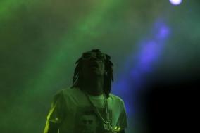 Wiz Khalifa performs at Okeechobee Music and Art Festival Friday night. Randy Vazquez, SouthFlorida.com