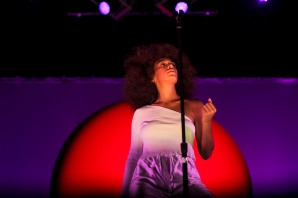Solange Knowles performs at Okeechobee Music and Arts Festival on Saturday night. Randy Vazquez, SouthFlorida.com