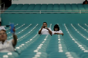Fans before the Real Madrid versus Barcelona game at Hard Rock Stadium on Saturday, July 29, 2017. Randy Vazquez, South Florida Sun-Sentinel
