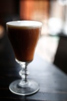 The hot Irish Coffee at Jack Rose Libation House in Los Gatos, Calif. on Wednesday, Feb. 28, 2018. (Randy Vazquez/ Bay Area News Group)