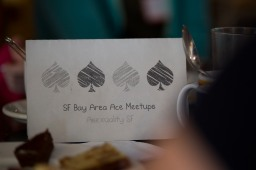 People get together for coffee during an event organized by Asexuality SF in San Francisco on Sunday, July 15, 2018. The group tries to have a meetup at least once a month.(Randy Vazquez/ Bay Area News Group)