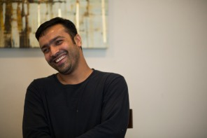 Muhammad Shakeel Naqvi smiles in his home in Menlo Park, Calif., on Tuesday, July 17, 2018. Naqvi rents a room from his employer Zareen Khan, owner of Zareen's Restaurant. Khan offers below-market rent to four of her key, full time employees. It's a unique way for a small business to keep its employees. (Randy Vazquez/ Bay Area News Group)