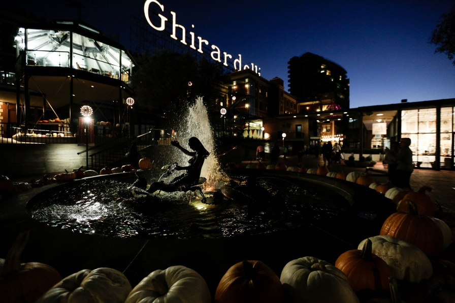 Ghirardelli Square in San Francisco on Thursday, Oct. 18, 2018. (Randy Vazquez/Bay Area News Group)