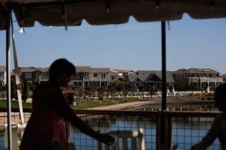 Houses are seen from The Boathouse at River Island in Lathrop, Calif., on Sunday, Sep. 30, 2018. (Randy Vazquez/Bay Area News Group)