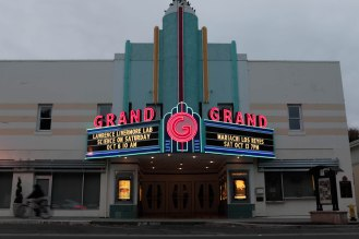 The Grand Theater for the Arts in Tracy, Calif., on Sunday, Sep. 30, 2018. (Randy Vazquez/Bay Area News Group)